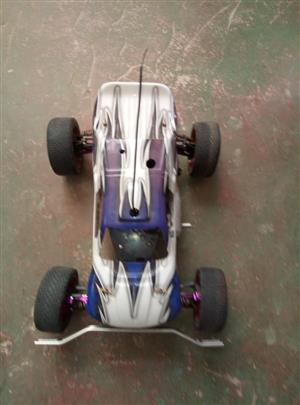 Rc nitro race car