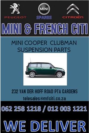 Mini Cooper Clubman Suspension parts For Sale.