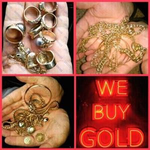 WE PAY FOR ALL KINDS OF JEWELRY AND SCRAP JEWELRY