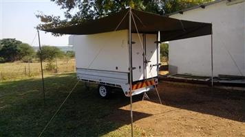 Trailer with canopy for sale