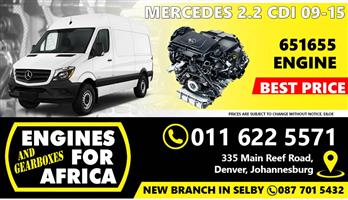 Used Mercedes Sprinter 2.2Cdi 09-15 Engine FOR SALE