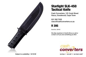Starlight SLK-450 Tactical Knife