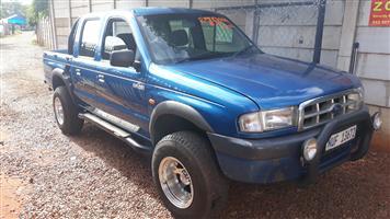 2001 Ford Ranger 2500TD double cab Hi Trail XLT