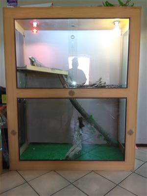 Tall Cage for reptiles for sale