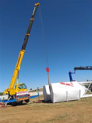 20 Ton Mobile Crane Hire