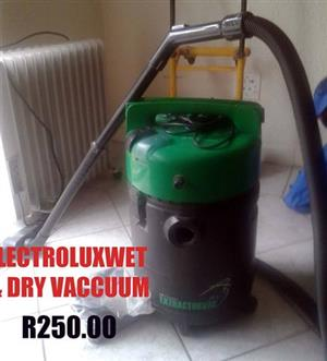 Electrolux dry vacuum for sale