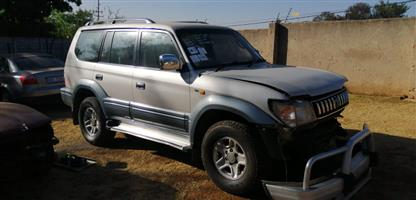 1997 Toyota Land Cruiser Prado PRADO VX 4.0 V6 A/T