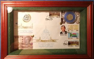 Framed Mandela set