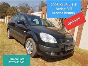 2008 Kia Rio 1.6 4 door Sport