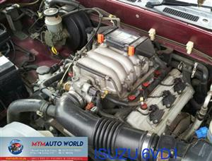 imported used ISUZU TROOPER/RODEO 3.2L, 6VD1 SOHC engine. Complete second hand used engine