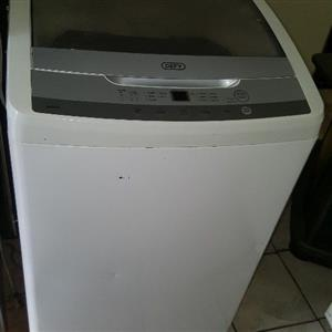 Defy 10kg metallic silver top finish top loader washing machine