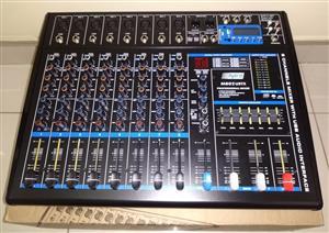 Hybrid 8 inch M802UBTX Desk Mixer