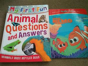 Finding nemo and animal book for sale