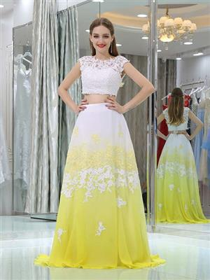 Brand New Very Affordable Ombre And Floral Matric Dance/Farewell/Ball Dresses