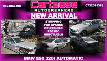 2009 BMW 3 Series 320i auto Stripping for spares