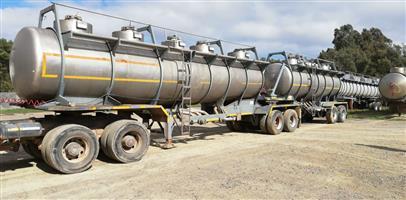 Hendred Combination Tankers 22.5 KL & 17.5 KL