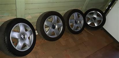 """Polo Mag wheels and tires for sale 15"""""""