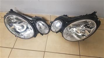 Mercedes Benz w211(Preface)Headlight for sale