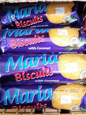 Maria biscuits Coconut
