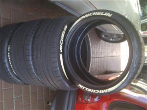 BMW M2 front tyres Michelin Pilot Supersport 2x245/35/19,80% thread