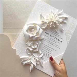 .Wedding puzzle invitation company