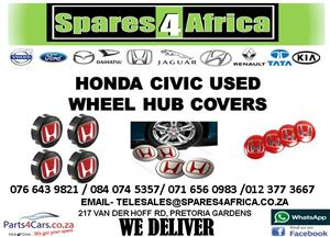 HONDA CIVIC USED WHEEL HUB COVERS FOR SALE