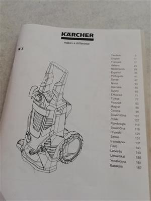 Karcher wapp and industrial vacuum cleaners er