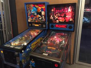 Pinball Machine : We want to buy for cash