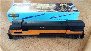 Black and yellow 8006 model train