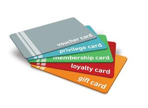 Printed PVC Access ID cards, gift cards, membership cards, hotel key cards, PVC card printers
