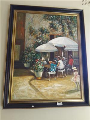 Large Italian Painting