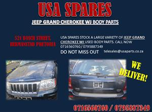 JEEP GRAND CHEROKEE WJ USED REPLACEMENT BODY PANELS