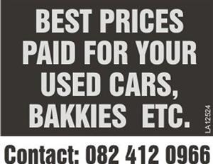 We buy any cars