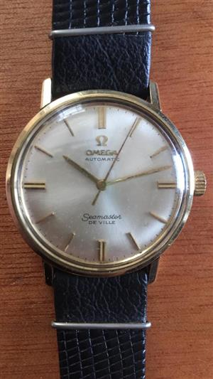 Omega SeamasterAutomatic  De Ville Dress watch in Gold