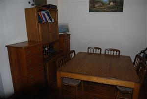 Complete 12 piece dining room set
