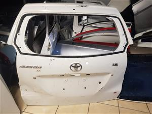 TAILGATE TOYOTA AVANZA SX FOR SALE