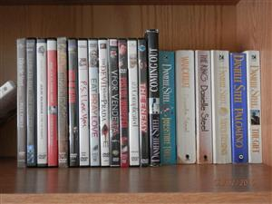 Danielle Steel Books and DVD's