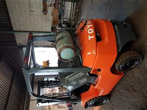 7Series 2.5 ton Petrol, gas