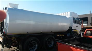 Water truck 18000L new tank