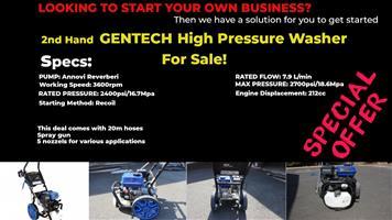 Gentech High Pressure Petrol Washer