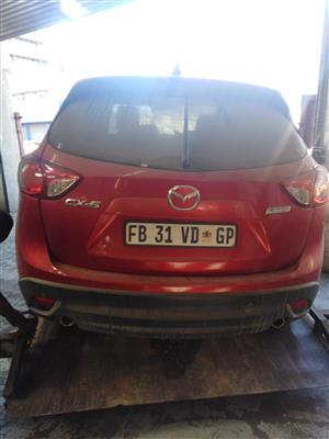 2016 Mazda CX5 stripping for spares by K&M motor spares