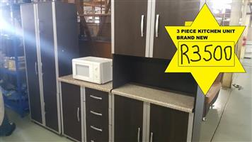 3 Piece kitchen unit