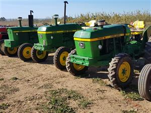 John Deere`s   1120, 1030, 1130  and 1140 Narrow  available. From: R59,000