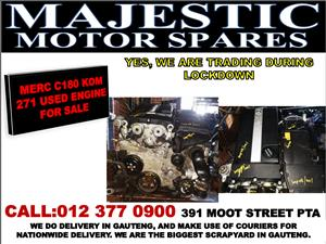Mercedes benz c180 used 271 engine for sale