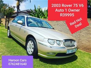 2003 Rover 75 2.5 V6 Tourer  Connoisser SE