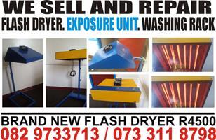 T. Shirts flash dryers