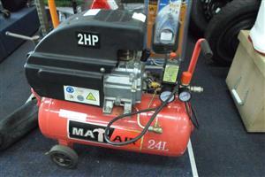 24l Mat-Air 2HP Compressor