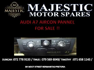 AUDI A7 AIRCON PANEL FOR SALE !!