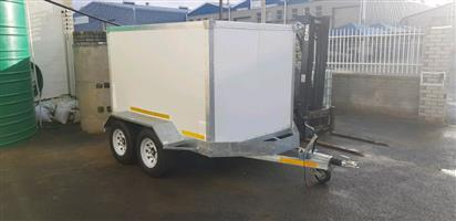 Brand new insulated trailer