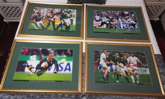 Rugby World Cup 2007 Framed Pictures